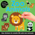 Zoo Animals: Use Stickers to Create 20 Cute Zoo Animals Cover Image