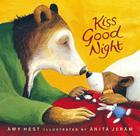 Kiss Good Night Lap-Size Board Book (Sam Books) Cover Image