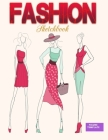 Fashion Sketchbook Figure Template: Large Female Figure Template for Easily Sketching Your Fashion Design Styles Cover Image