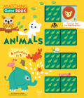 Animals Matching Game Book: 4 Activities in 1! (Matching Game Books #1) Cover Image