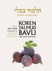 Koren Talmud Bavli, Noe Edition, Vol 42: Nidda, Hebrew/English, Daf Yomi B&w Cover Image