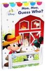 Disney Baby Moo, Moo, Guess Who? Cover Image