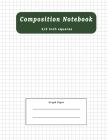 Composition Notebook: Graph Paper Notebook Composition School Book 1/2 inch squares 0.5