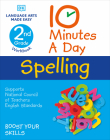 10 Minutes a Day Spelling, 2nd Grade Cover Image