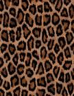 Leopard Print Notebook: 8.5 X 11 202 College Ruled Pages Cover Image