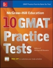 McGraw-Hill Education 10 GMAT Practice Tests Cover Image