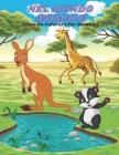 NEL MONDO ANIMALE - Libro Da Colorare Per Bambini Cover Image