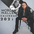 Morgan Wallen: 2021-2022 calendar - 24 months - 8.5 x 8.5 glossy paper Cover Image