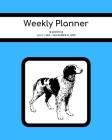 Weekly Planner: Brittany Spaniel; 18 months; July 1, 2019 - December 31, 2020; 8
