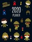 Soldat Planer 2020: Agenda Planer 2020: Top organisiert durchs Jahr! - Planer Kalender 2020 mit Wochenansicht - Einfacher Überblick über d Cover Image
