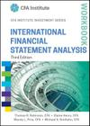 International Financial Statement Analysis Workbook (Cfa Institute Investment) Cover Image