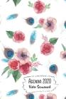 Agenda 2020 Vista Semanal: 12 Meses Programacion Semanal Calendario en Espanol Diseno Flores de Amapola Rosa Cover Image