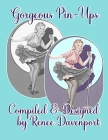 Gorgeous Pin-Ups: Grayscale Adult Coloring Book Cover Image