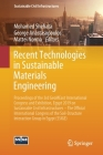 Recent Technologies in Sustainable Materials Engineering: Proceedings of the 3rd Geomeast International Congress and Exhibition, Egypt 2019 on Sustain (Sustainable Civil Infrastructures) Cover Image