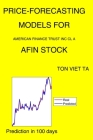 Price-Forecasting Models for American Finance Trust Inc Cl A AFIN Stock Cover Image