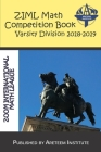 ZIML Math Competition Book Varsity Division 2018-2019 Cover Image