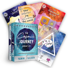 The Cosmic Journey Oracle: A 55-Card Deck and Journaling Guidebook Cover Image