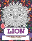 Coloring Book for Adults Patterns Mandala Animal - Lion Cover Image