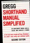 The Gregg Shorthand Manual Simplified Cover Image