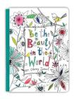 Be the Beauty in the World (Coloring Journals) Cover Image