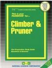 Climber & Pruner: Passbooks Study Guide (Career Examination Series) Cover Image