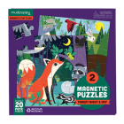 Forest Night & Day Magnetic Puzzles Cover Image
