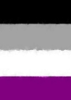 Asexual Pride Flag Sketch Journal Cover Image