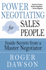 Power Negotiating for Salespeople: Inside Secrets from a Master Negotiator Cover Image