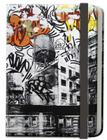 Street Notes-New York Artwork by AVone (Large Hardcover Journal): 144-page lined notebook Cover Image