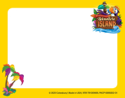 Vacation Bible School (Vbs) 2021 Discovery on Adventure Island Name Tag Cards (Pkg of 24): Quest for God's Great Light Cover Image