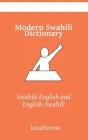 Modern Swahili Dictionary: Swahili-English, English-Swahili Cover Image