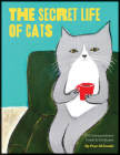 The Secret Life of Cats Correspondence Cards: (Funny Kitty Portrait Flat Cards by Japanese Artist, Cards with Cute and Weird Cat Illustrations) Cover Image