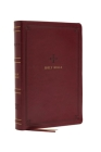Nrsv, Catholic Bible, Standard Large Print, Leathersoft, Red, Comfort Print: Holy Bible Cover Image