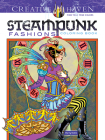 Creative Haven Steampunk Fashions Coloring Book (Creative Haven Coloring Books) Cover Image