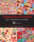Japanese Kimono Gift Wrapping Papers: 12 Sheets of High-Quality 18 X 24 Inch Wrapping Paper Cover Image
