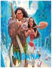 Moana: An Activity and Learning Book for Toddlers through Fun and Excitement. Cover Image