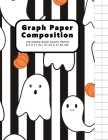 Graph Paper Composition Notebook: Grid Paper Notebook, Quad Ruled, 100 Sheets, 1/2 Inch Squares, Grid Paper 0.50