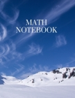 Math Notebook: 120 pages, math notebook, quad ruled workbook, 8.5 x 11 inch large soft cover journal, 4 squares per inch suited for k Cover Image