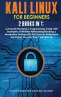 Kali Linux for Beginners: 2 Books in 1: Computer Hacking & Programming Guide with Examples of Wireless Networking Hacking & Penetration Testing Cover Image