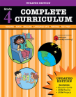 Complete Curriculum: Grade 4 (Flash Kids Harcourt Family Learning) Cover Image