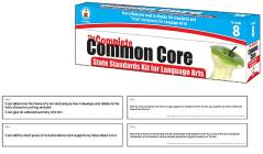 The Complete Common Core State Standards Kit for Language Arts, Grade 8 Cover Image