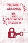 Internet Address & Password Logbook Cover Image