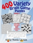 Variety Brain Game Puzzle Book, Volume 2: 400 Puzzles Cover Image