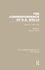 The Correspondence of H.G. Wells: Volume 4 1935-1946 Cover Image