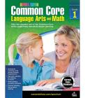 Common Core Language Arts and Math, Grade 1 (Spectrum) Cover Image