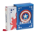 Marvel Comics: Captain America (Tiny Book): Inspirational Quotes From the First Avenger (Fits in the Palm of Your Hand, Stocking Stuffer, Novelty Geek Gift) Cover Image
