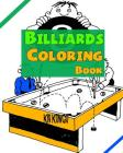 Billiards Coloring Book Cover Image