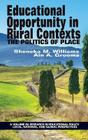 Educational Opportunity in Rural Contexts: The Politics of Place (HC) Cover Image