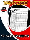 Yahtzee Score Sheets: 100 Pages, Dice Board Game, Yahtzee Score Pads, Yatzee Score Cards, Yahtzee Score Book Cover Image
