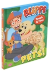 Blippi: Pets (Touch and Feel) Cover Image